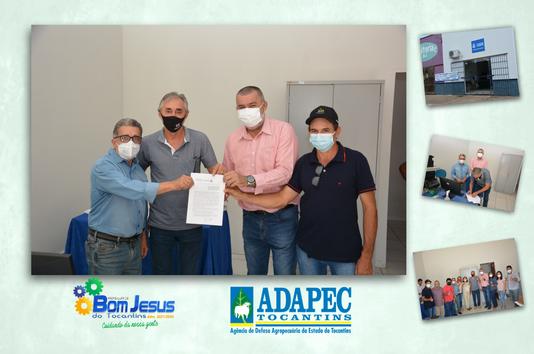 Prefeitura inaugura unidade de atendimento da ADAPEC em Bom Jesus