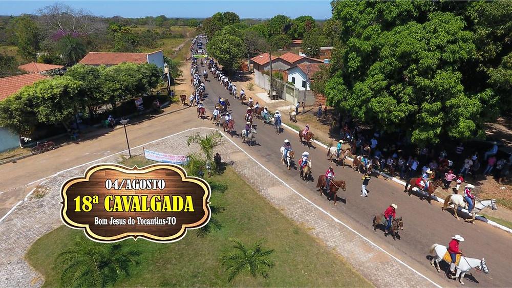 18ª Cavalgada de Bom Jesus do Tocantins - TO