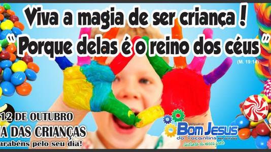 Em clima de muita alegria, festa em comemoração ao dia das crianças foi realizada nesta segunda (09/
