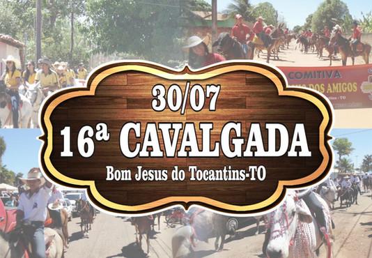 Cavalgada em sua 16ª Edição, reúne 28 comitivas de toda região