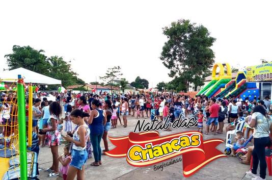 Prefeitura realiza festa Natal das Crianças Bonjesuinas