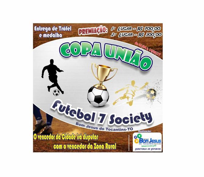 Diretoria de Esportes realiza Copa União de 7 Society