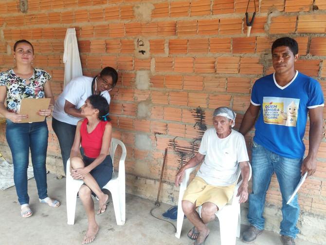 Famílias da Zona Rural recebem atendimento médico a domicílio