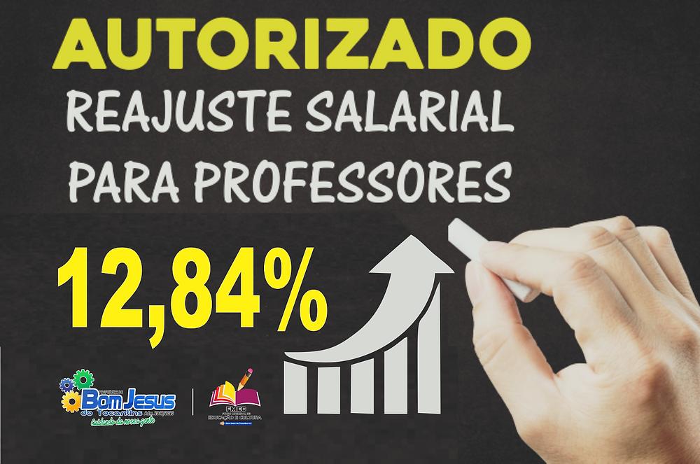 Reajuste Salarial Professores