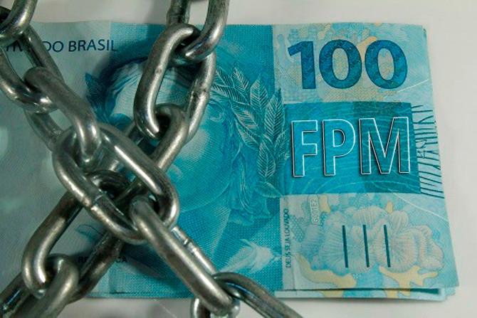 Dividas não pagas pela gestão anterior, bloqueiam FPM do município