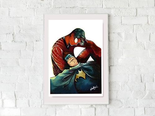 """Spiderman and Batman"""