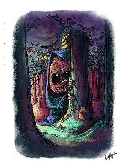 """Monster in forrest"""