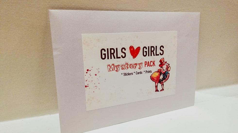 """""""Girls <3 Girls"""" Mystery pack!"""
