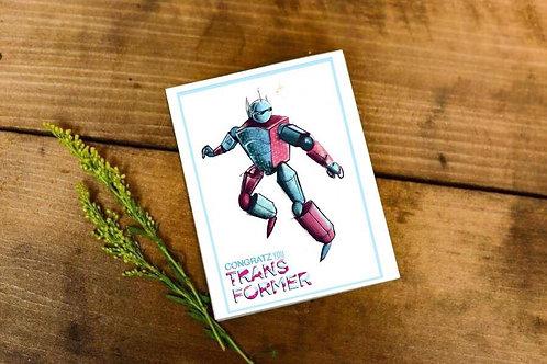 """Trans man card"""