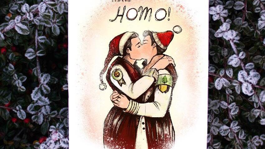"""""""Ho ho Homo"""""""