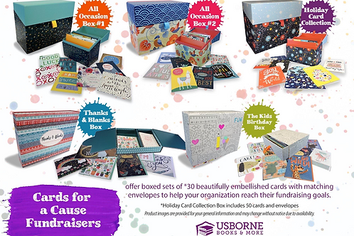 Usborne Cards for a Cause Fundraiser