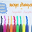 Thumbnail: NOYO 12 Colors Crayons - Not Your Ordinary Crayons 3 in 1 Bolder Crayons-Pastel-