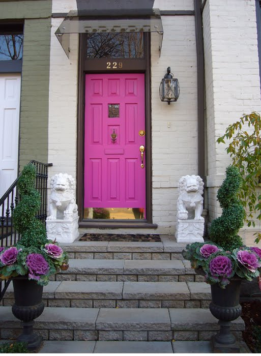 Paint Your Door Pink
