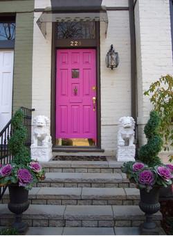 Paint Your Door Pink