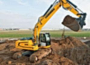 Ковш для строительной техники