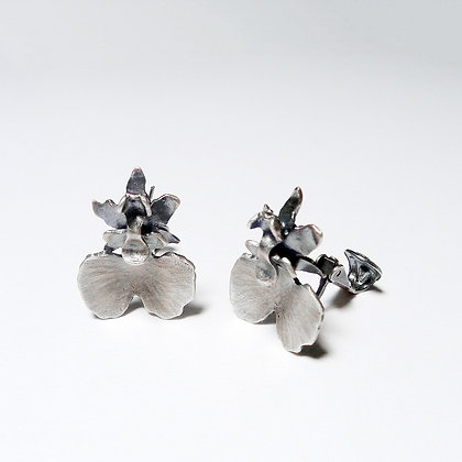 Dancing Dall Orchid - Earring #2