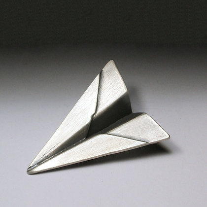 Airplane - Brooch #OBR1