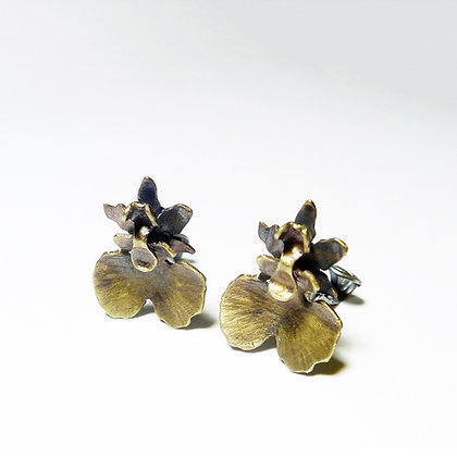 Dancing Dall Orchid - Earring #1