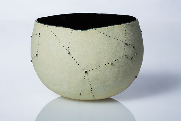 Cream Constellation copper, enamel, blac