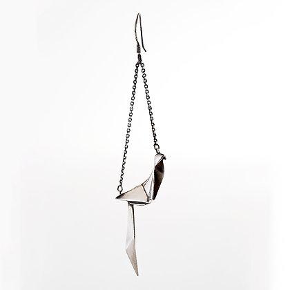 Formosa Blue Magpie - Single Earring #NSTE1