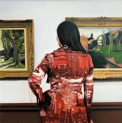 Woman at the Art Galleries