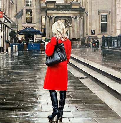 Red Coat on the Square