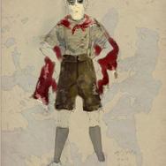 自然而然劇團《沙地》服裝設計圖