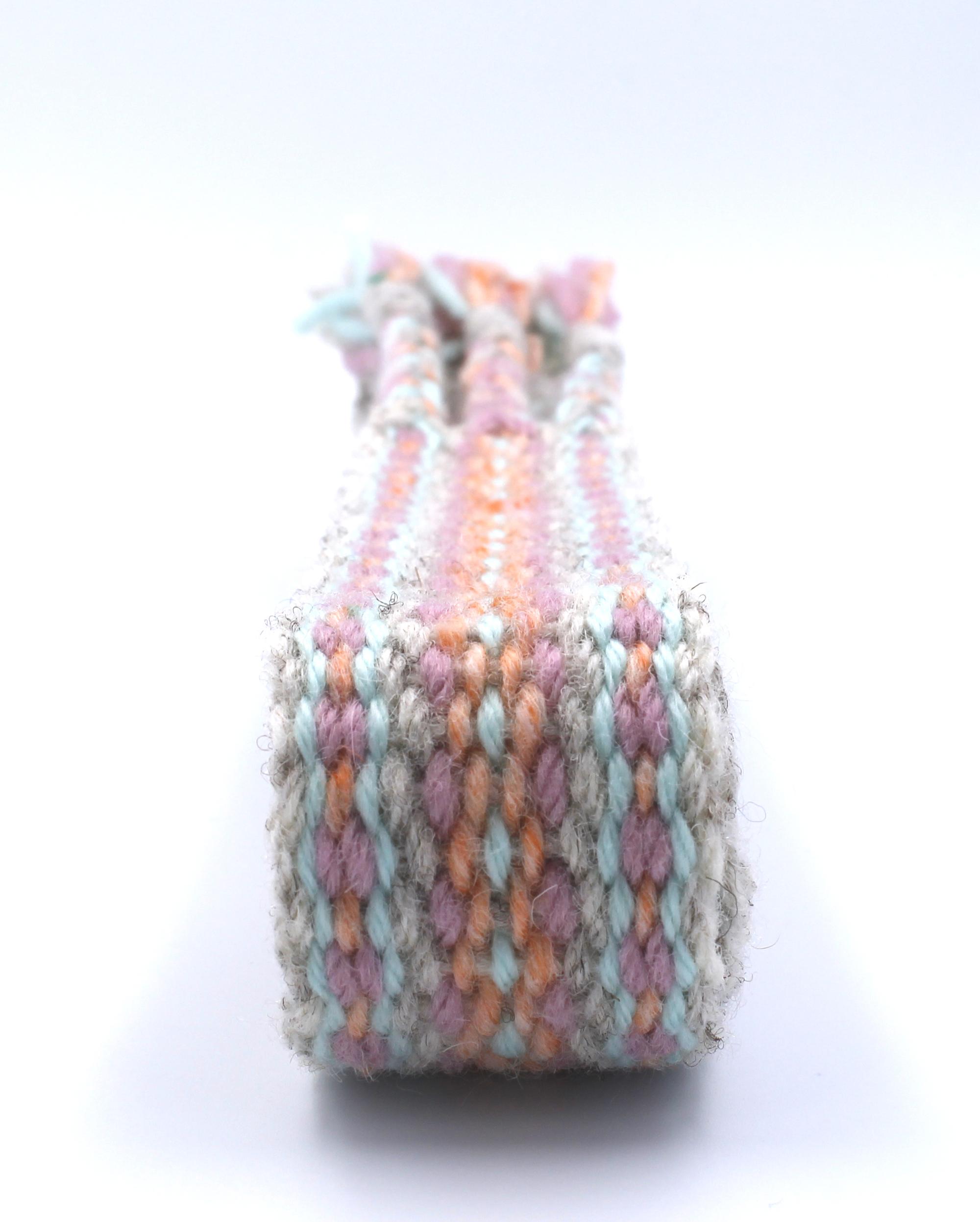 Aqua Coral handfasting cord