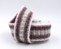 Handfasting Cord - Dusty Rose and Sage 3