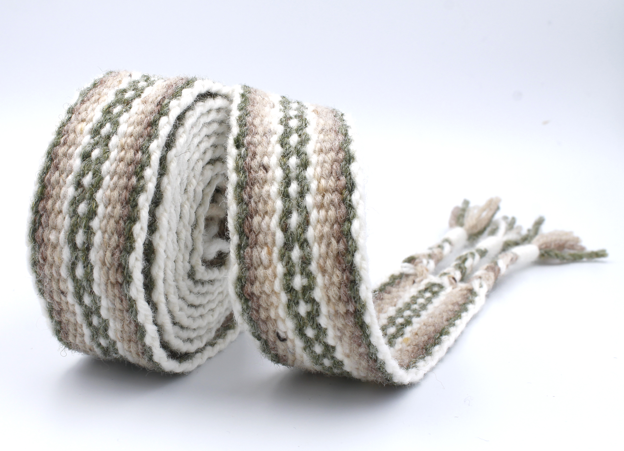 Handfasting Cord - Sage Green and Light