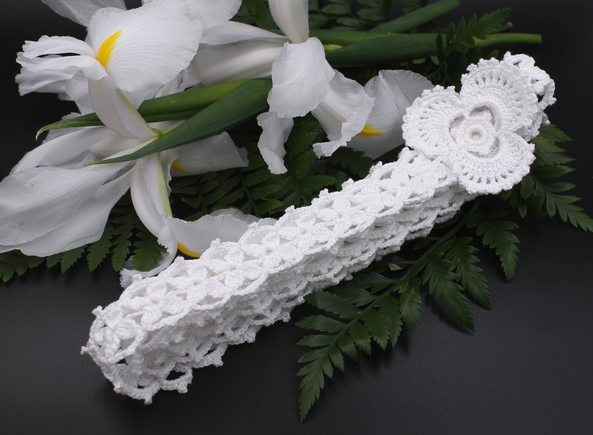 star Irish lace handfasting cord with sh