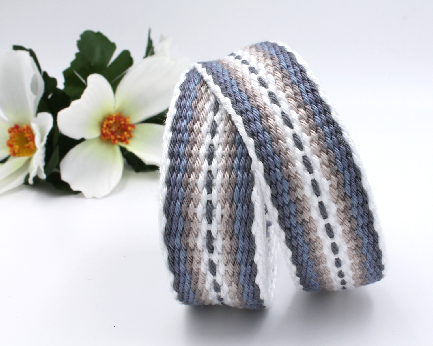Handfasting Cord - Silver Linings 7