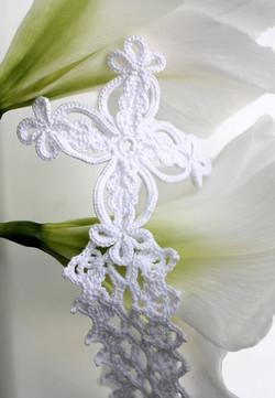 Irish Lace Handfasting Cord-Cross