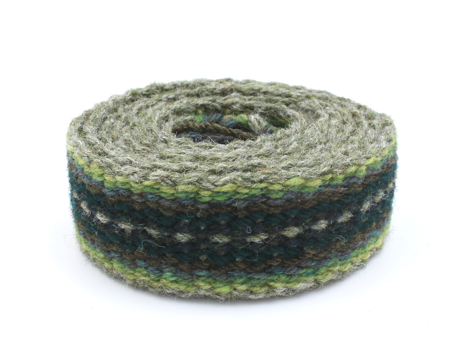 Handfasting cord - evergreen heart