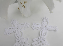 Irish Lace Handfasting Cord-Crosses