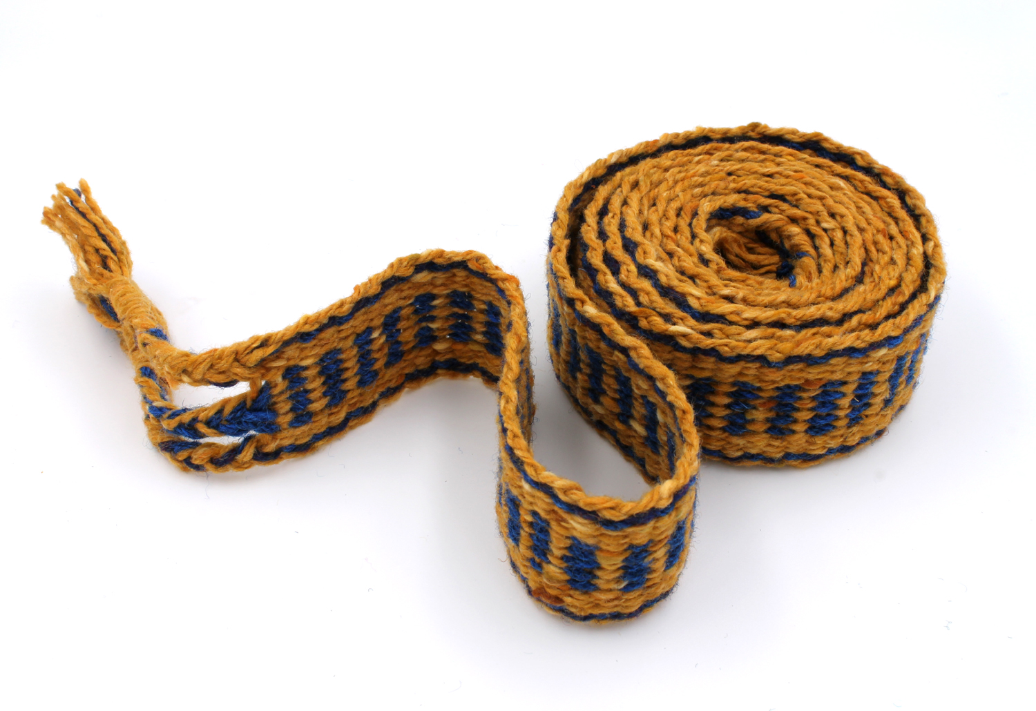 Handfasting Cord - Sapphire and Gold  (6