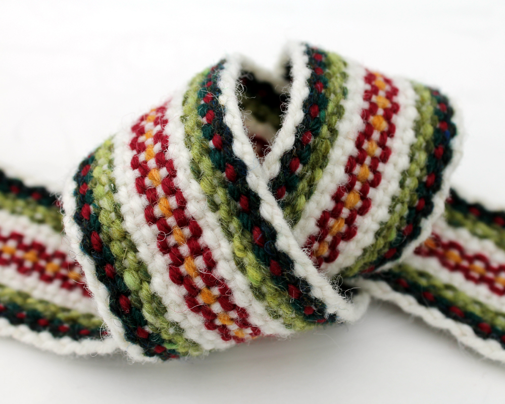 Handfasting Cord - Crimson Heart - 5