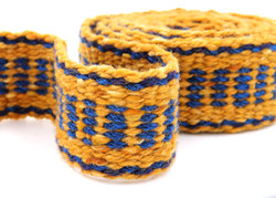 Handfasting Cord - Sapphire and Gold  (7