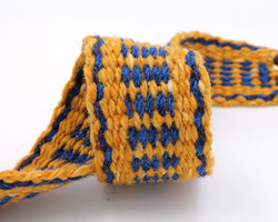 Handfasting Cord - Sapphire and Gold  (3