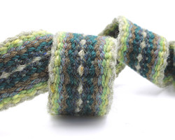 Handfasting cord - evergreen heart 4