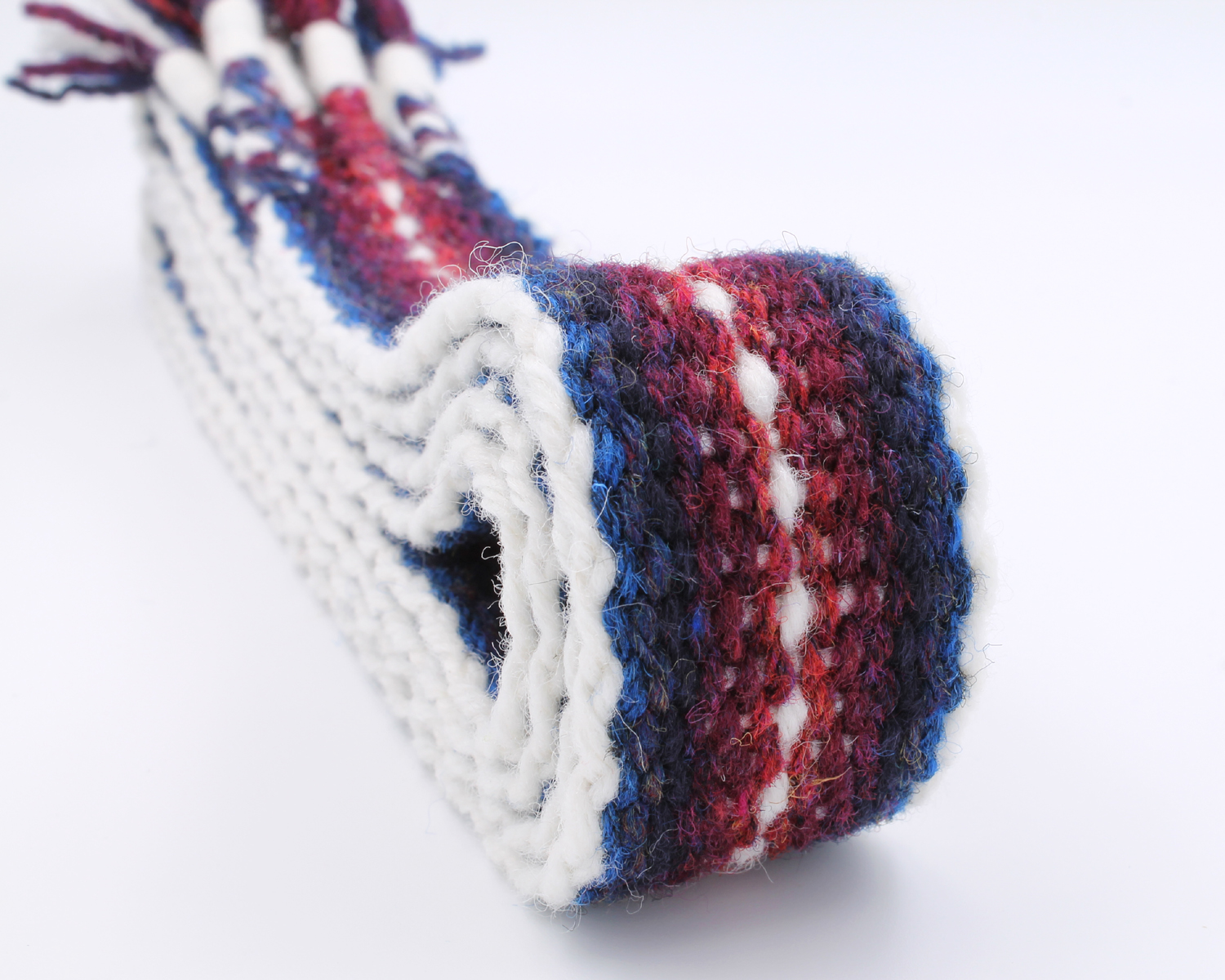 Handfasting Cord - Burgundy and Navy