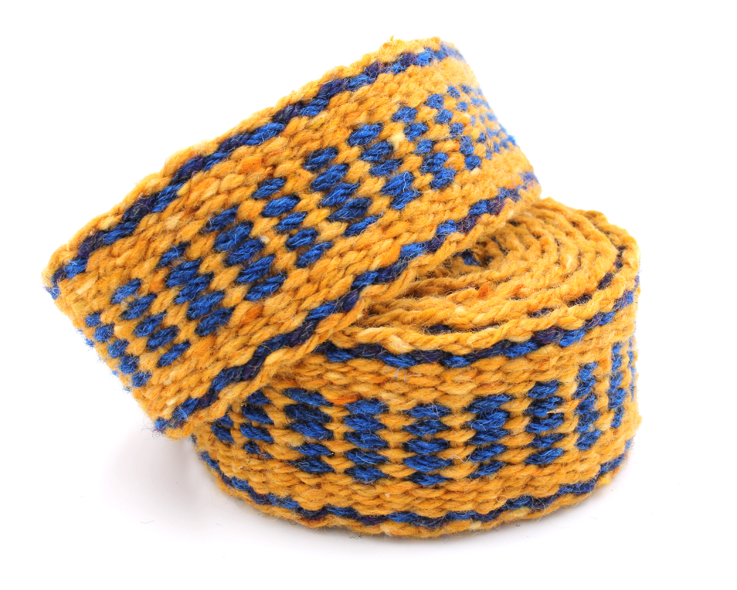 Handfasting Cord - Sapphire and Gold  (4