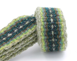 Handfasting cord - evergreen heart 2