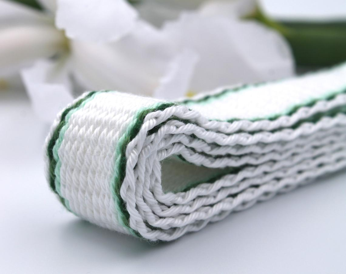 shamrocks on cotton cord
