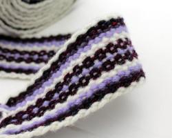 Handfasting Cord - Purple Haze -3