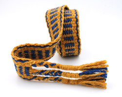 Handfasting Cord - Sapphire and Gold  (5