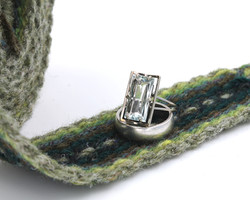 Handfasting cord - evergreen heart 5