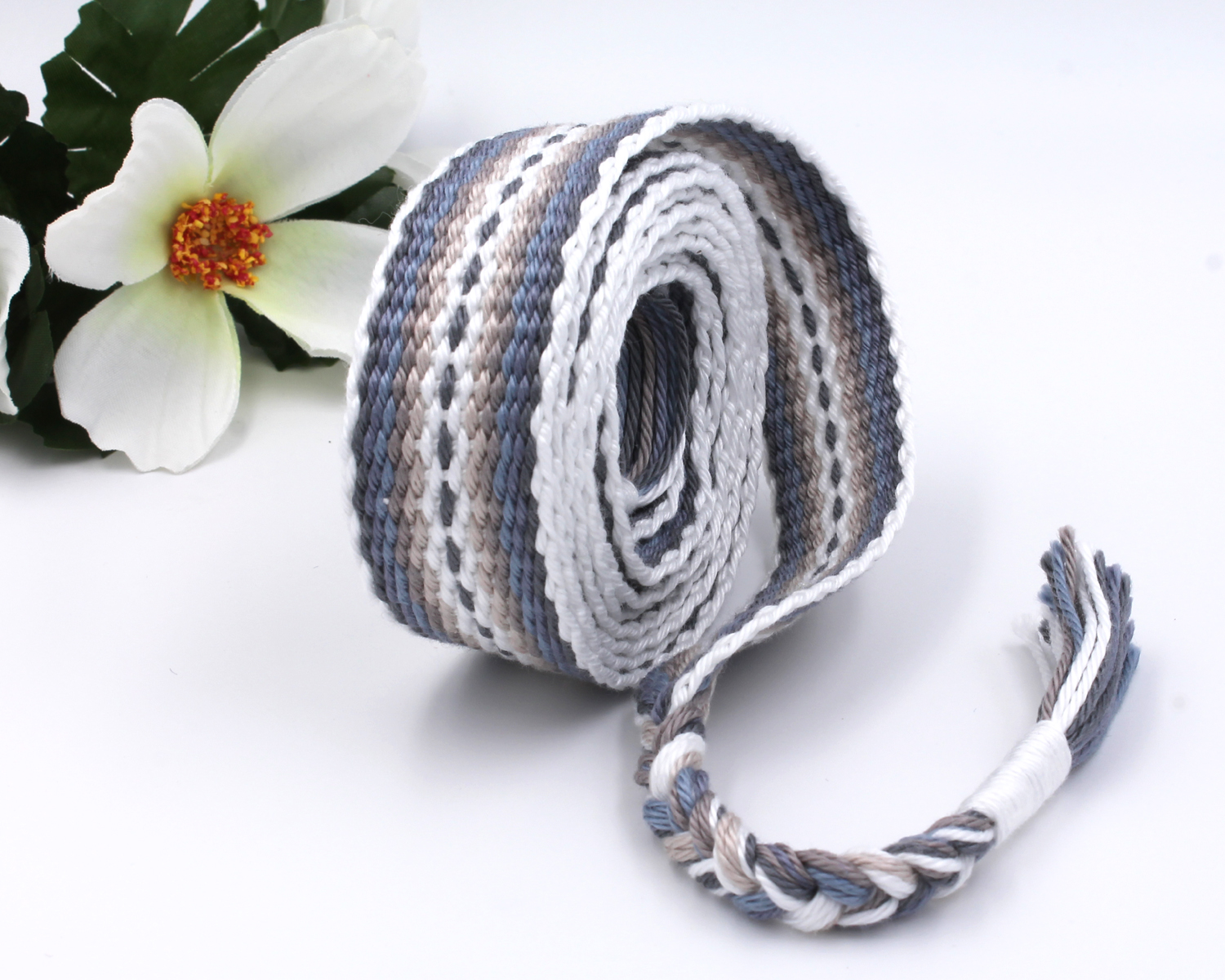 Handfasting Cord - Silver Linings 5