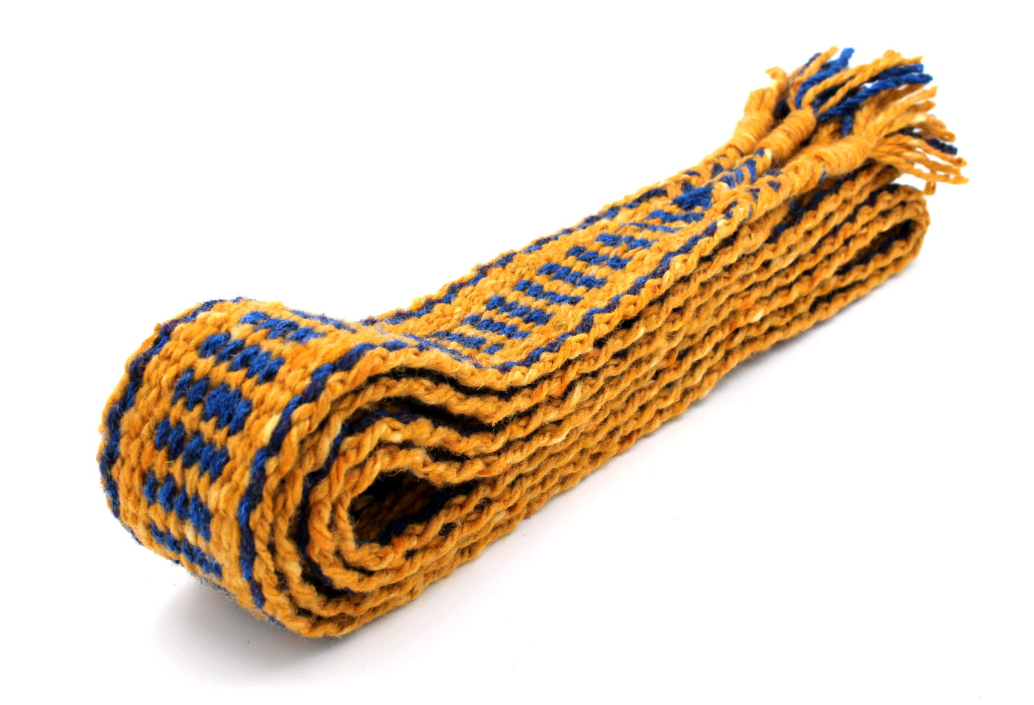 Handfasting Cord - Sapphire and Gold  (9
