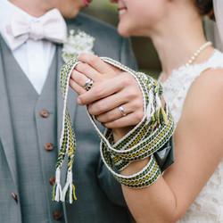 """Handfasting Cord - """"Irish Wedding"""""""